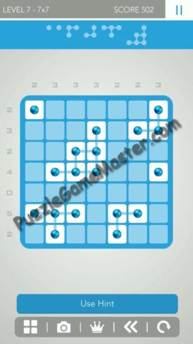 Logic Dots 2 77 Level 7 Hints And Answer Puzzle Game Master