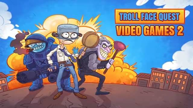 Troll Face Quest Video Games 2 All Levels Solution Walkthrough