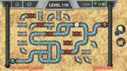 Pipeline Level 110 Hint Answer Solution Android » Puzzle Game Master