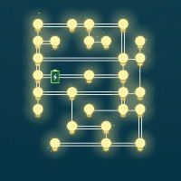 All Light : Pack I Level (1 2 3 4 5 6 7 8 9 10) Solutions » Puzzle