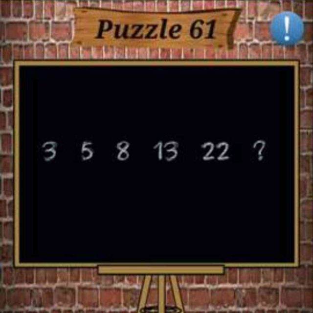 Math Puzzles Game Level 61 Answer With Solution 187 Puzzle