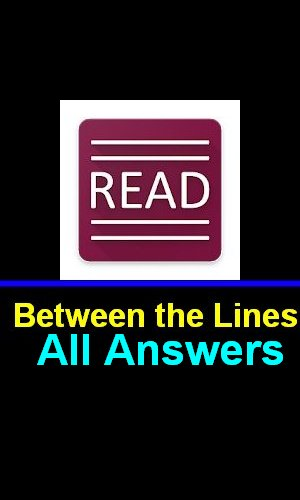 Between The Lines Answers All Levels Complete In One Page