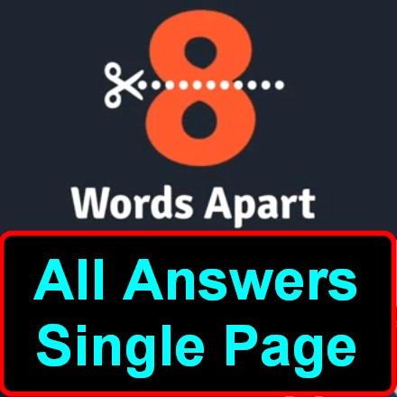 8 Words Apart Answers All In One Page Image 1 375 Puzzle