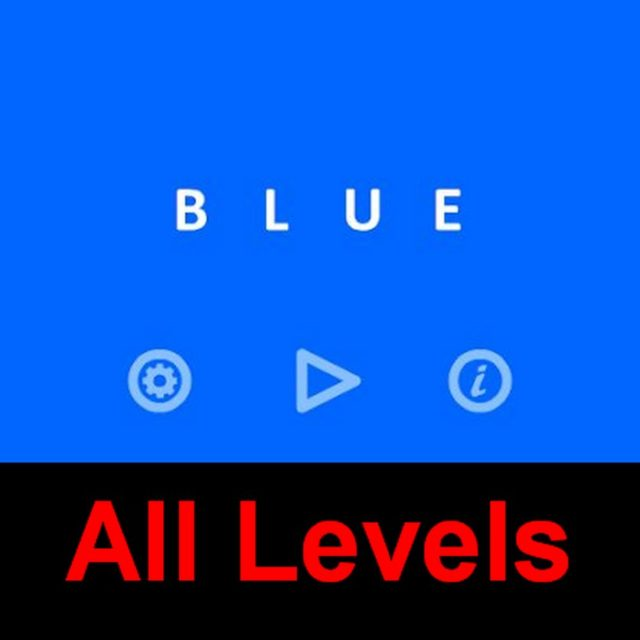 blue game hints walkthrough solution level