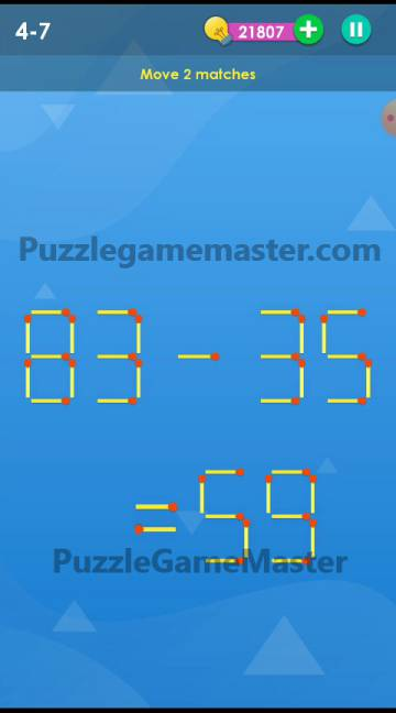 Smart Puzzle Collection Matches 4-7 Answer
