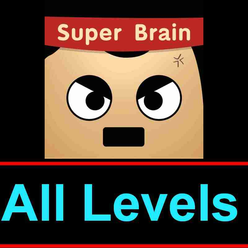 Super Brain Answers Solutions All 200 Levels In One Page Puzzle Game Master