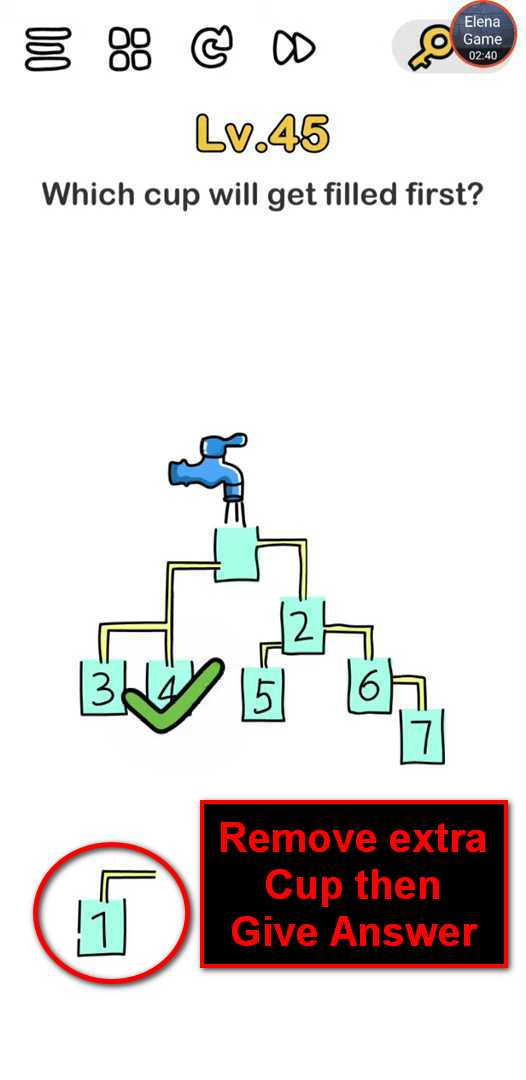 Brain Out Level 44 Solution Answer Hints Puzzle Game Master