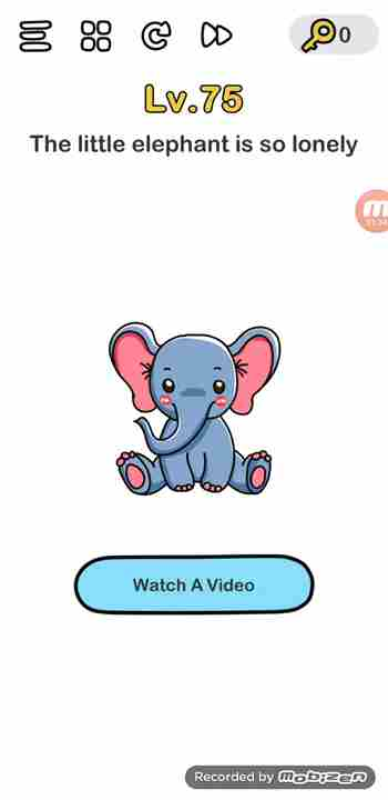 Brain Out Level 18 Solution Little Elephant Is So Lonely