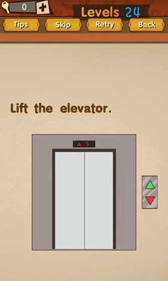 Super Brain Level 58 Solution Lift The Elevator Puzzle Game Master