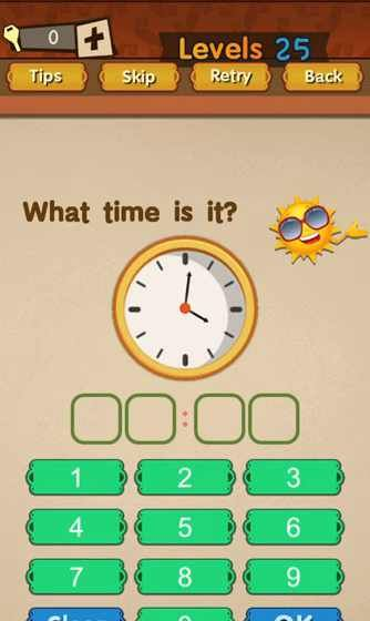 Super Brain Level 25 Solution What Time Is It Puzzle Game Master