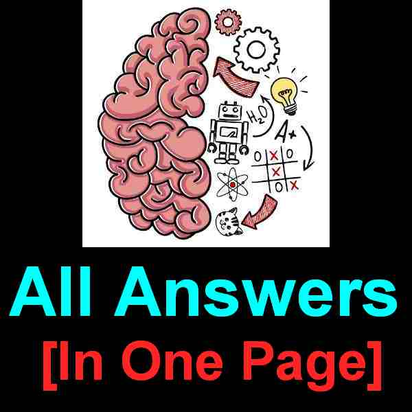 Brain Test Answers [All 147+ Level In One Page] – Puzzle Game Master