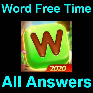 Word Free Time Level 750 Answer