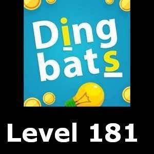 Dingbats Level 181