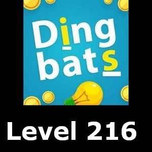 Dingbats Level 216