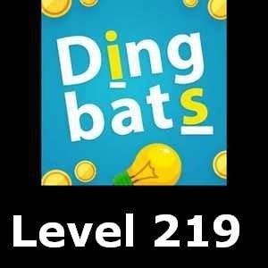 Dingbats Level 219