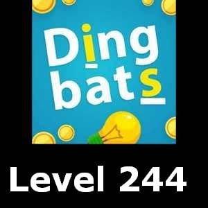 Dingbats Level 244