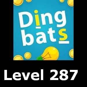 Dingbats Level 287