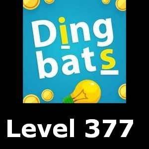 Dingbats Level 377