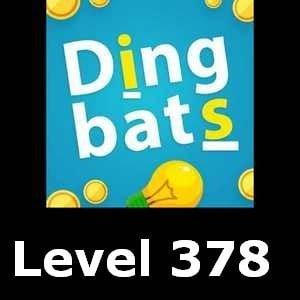 Dingbats Level 378