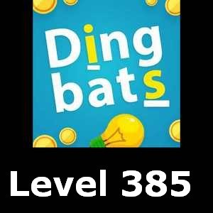 Dingbats Level 385