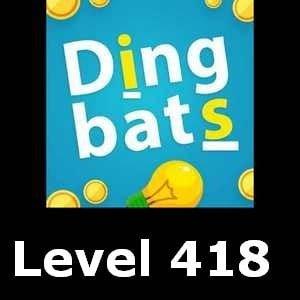 Dingbats Level 418
