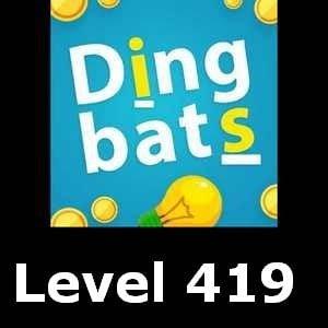 Dingbats Level 419