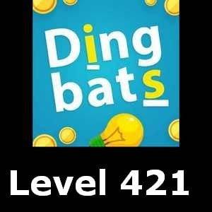 Dingbats Level 421