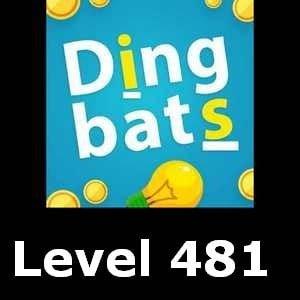 Dingbats Level 481