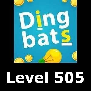 Dingbats Level 505