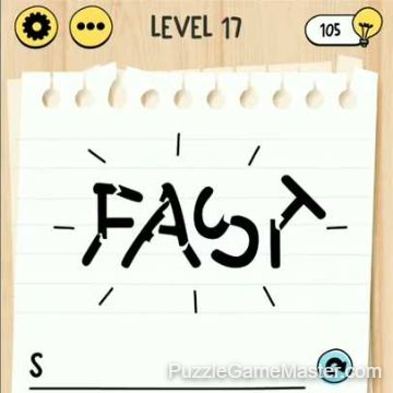 Brain Test Tricky Words level 17