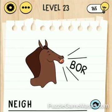 Brain Test Tricky Words level 23