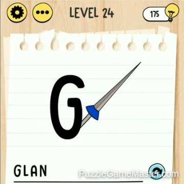 Brain Test Tricky Words level 24