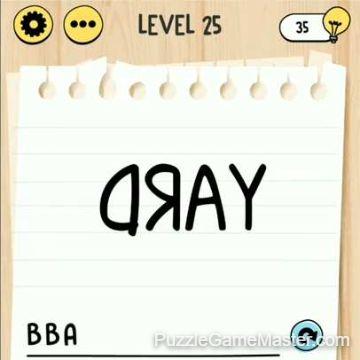 Brain Test Tricky Words level 25