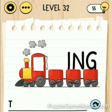 Brain Test Tricky Words level 32