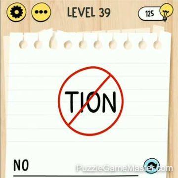 Brain Test Tricky Words level 39