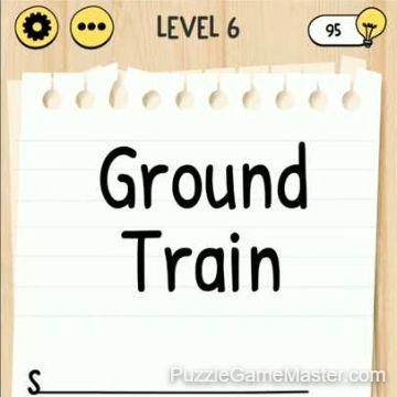 Brain Test Tricky Words level 6